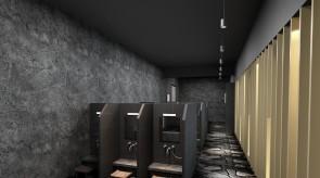 齐齐哈尔扎龙温泉会馆-淋浴间效果图