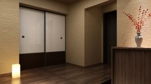 齐齐哈尔扎龙温泉会馆-汤屋入口效果图