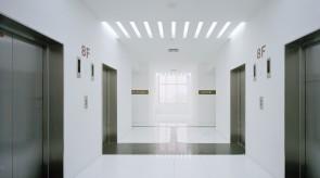 オフィス標準階エレベータホール