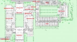 齐齐哈尔扎龙温泉酒店-平面结构图