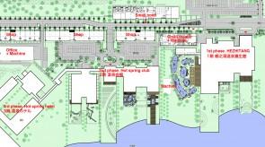 齐齐哈尔扎龙温泉会馆-规划分区图