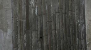現場写真(2015.07.03)竹型枠RCモックアップ